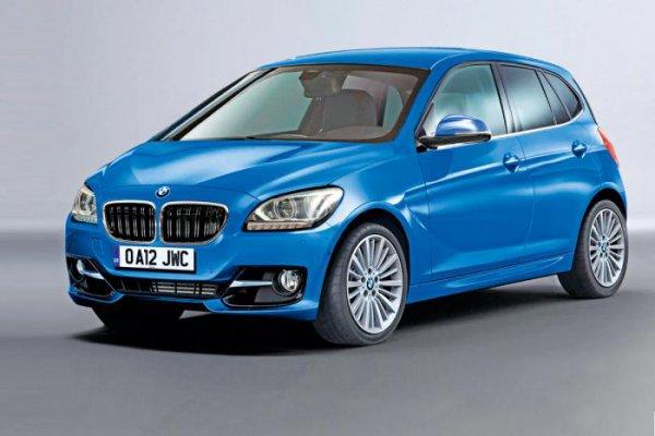 Неофициальная иллюстрация BMW с передним приводом