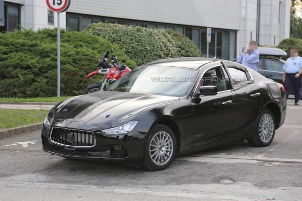 Новая Alfa Romeo на тестах