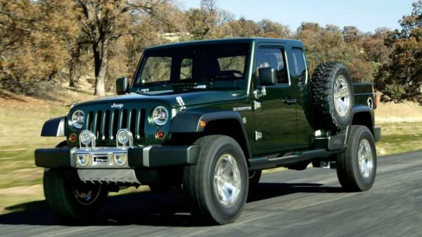 Пикап на базе Jeep Wrangler производили лет 30 назад