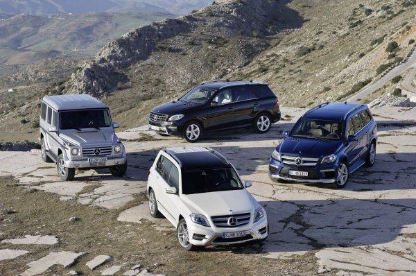 Украинцам покажут новые внедорожники Mercedes
