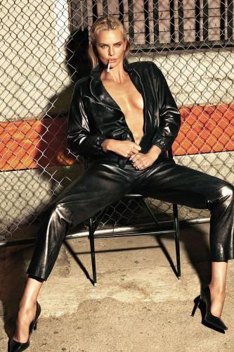 Шарлиз Терон снялась для W Magazine