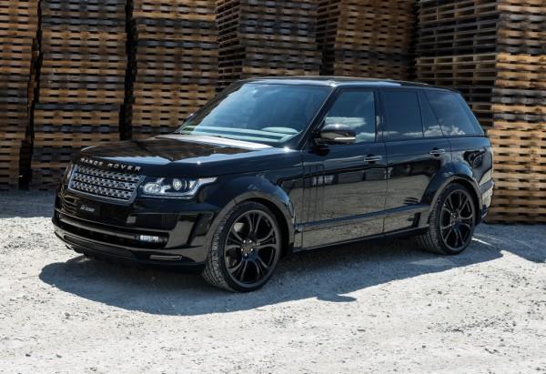 Машину построят на базе Range Rover