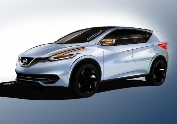 Новый Nissan Qashqai. Неофициальная иллюстрация