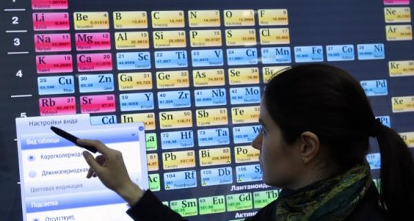 Четыре новых элемента внесли в таблицу Менделеева