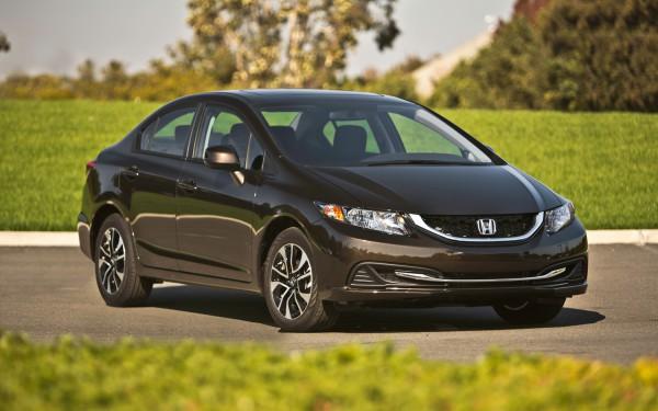 Обновленный седан Honda Civic стоит 200 200 грн