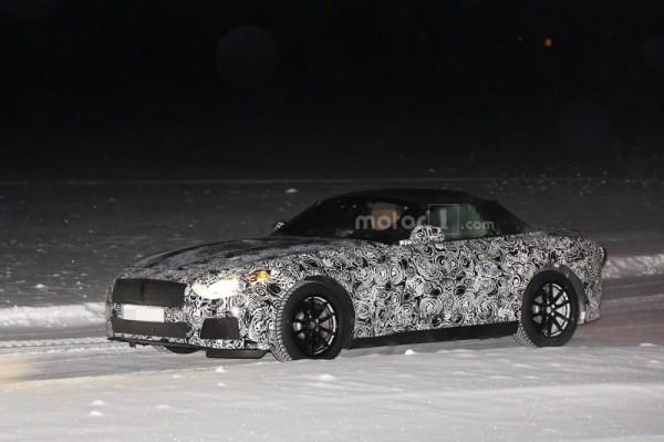BMW Z5 впервые замечен на тестах