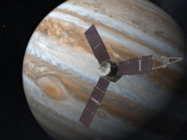Juno достигла Юпитера