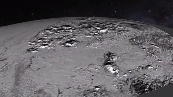Аппарат снял поверхность Плутона
