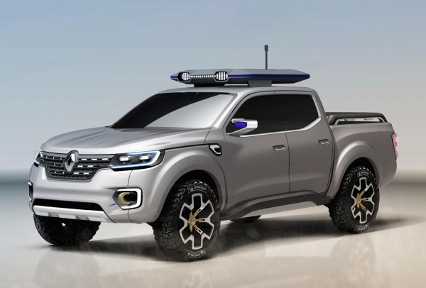 Новый пикап от Renault