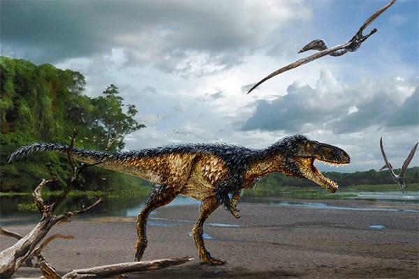 Умный динозавр был предком тираннозавров