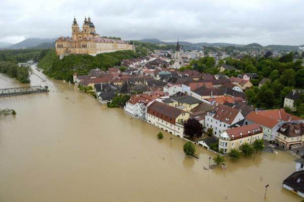 Часть Европы может быть затоплена уже в этом веке