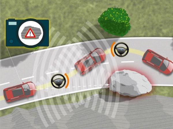 Ford научит автомобили объезжать препятствия