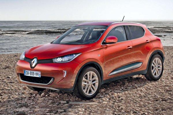 Неофициальные иллюстрации «Renault Juke»