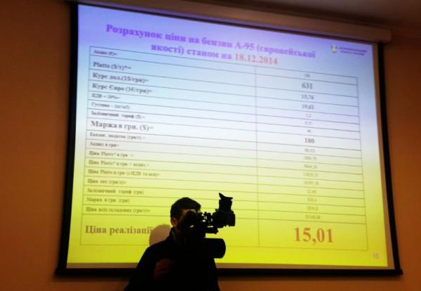 Свою точку зрения в АМКУ доказывали слайдом