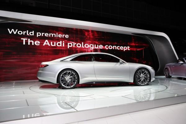 Прототип Audi prologue станет вседорожным