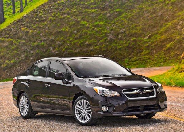 Новая Subaru Impreza будет доступна только в кузове седан
