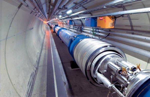 Огромный ускоритель частиц