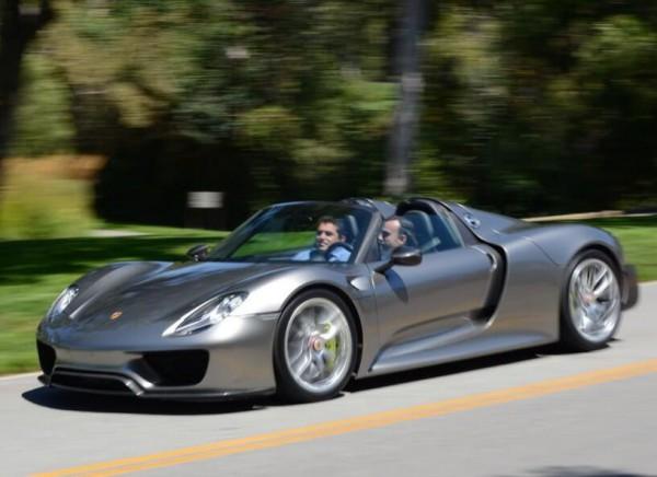 Серийный Porsche 918 Spyder. Такой получат дилеры.