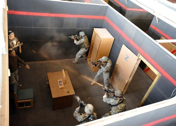 Тренировка солдат сил специального назначения
