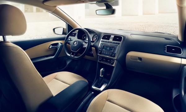 Салон нового VW Polo