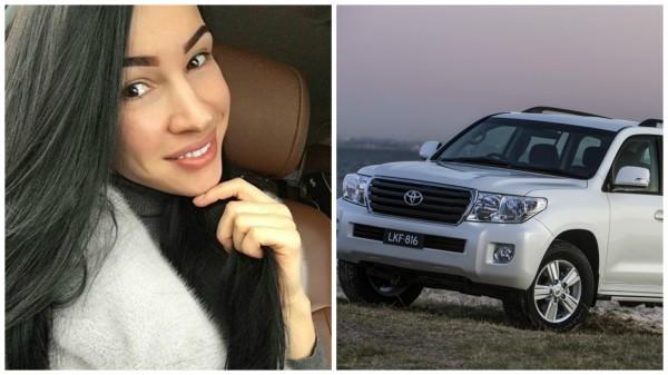 Ирина Немец и ее новый автомобиль
