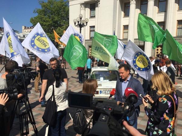 В Киеве проходит акция Микола Запорожець