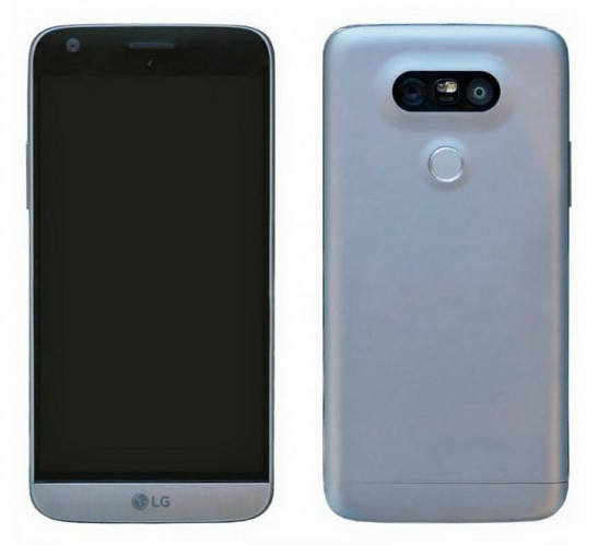 Утечка дизайна LG G5