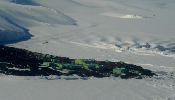 Новозеландская антарктическая станция Скотт-Бейс