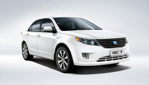 Geely GC7 выйдет на украинский рынок