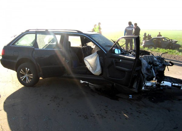 Также пострадали водитель и пассажир Audi A6
