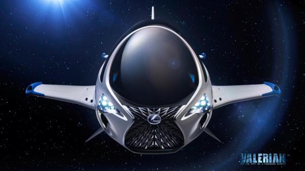 Лексус улетит вкинокартине вкосмическое пространство