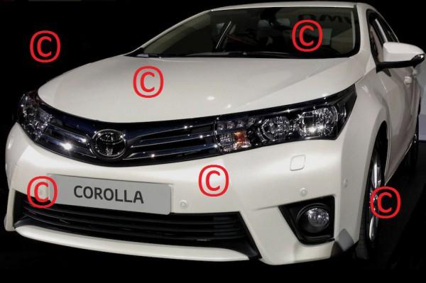 Новую Toyota Corolla рассекретили раньше срока