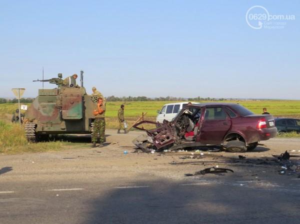 ДТП на трассе Донецк-Мариуполь