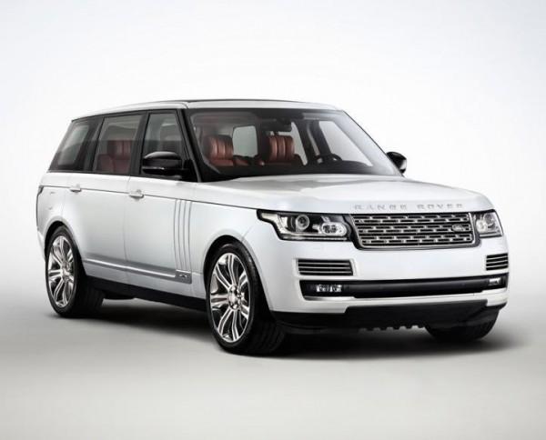 Range Rover с удлиненной колесной базой