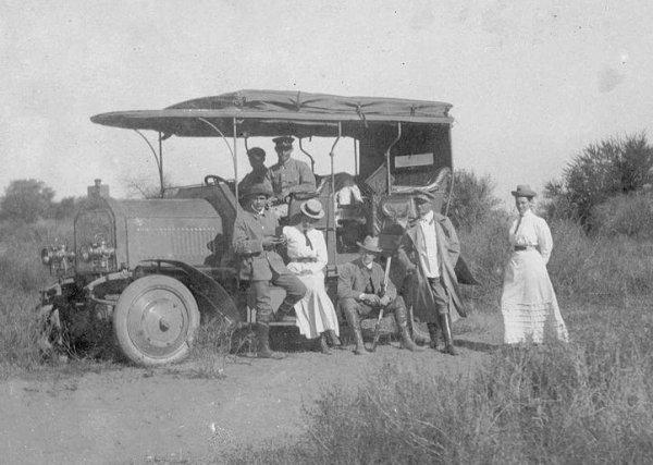 Dernburg-Wagen «служил» в тогда еще германской Юго-Западной Африке