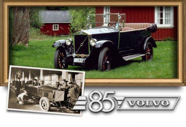 Первый Volvo ÖV4 выпустили 85 лет назад