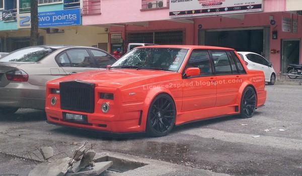 Старый Volvo превратил в Rolls-Royce