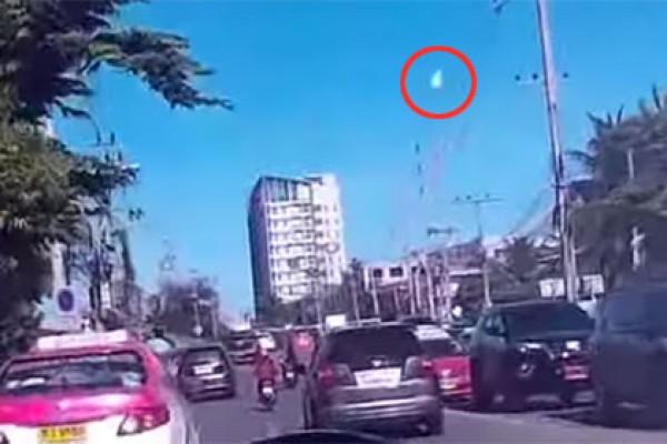 Падение метеорита в Таиланде