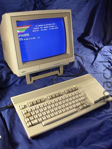 Commodore 65 с монитором