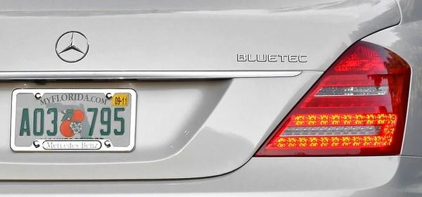 В США подали иск на Mercedes-Benz из-за выхлопных газов