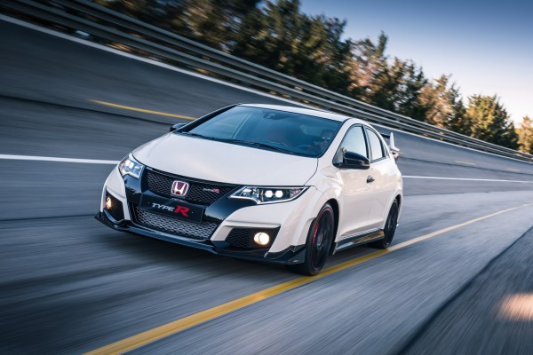 Honda Civic Type R на треке