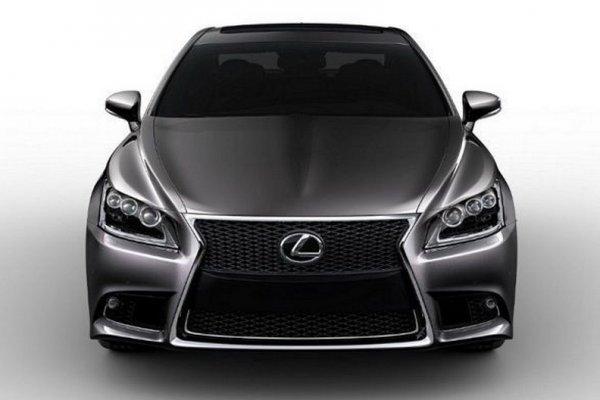 Новый Lexus LS F-Sport