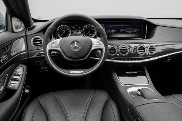 Mercedes S63 AMG оснащен коробкой передач AMG Speedshift MCT