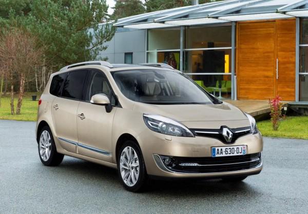 Обновленный Renault Grand Scenic