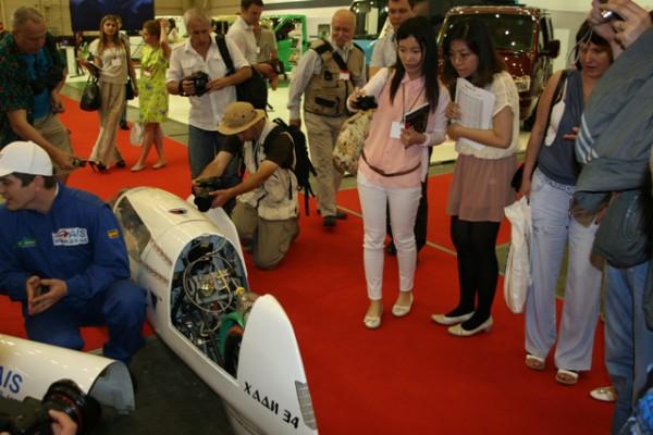 SIA 2013: ХАДИ-34 вызвал интерес иностранцев