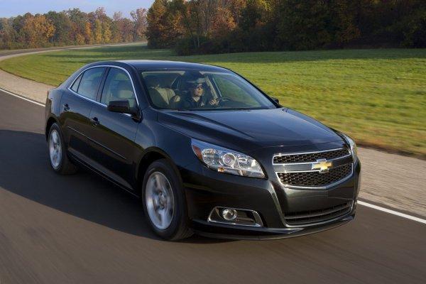 В мае стартуют продажи нового Chevrolet Malibu