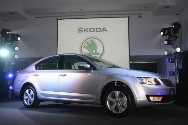 Skoda Octavia A7 была представлена в Украине
