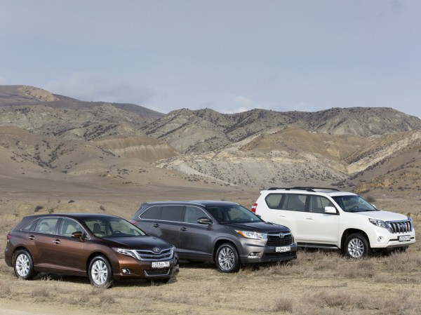 Модели Toyota стали лидером рынка