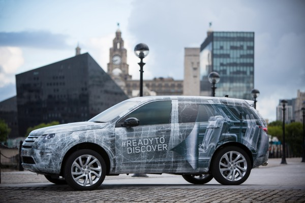 Замаскированный Land Rover Discovery Sport