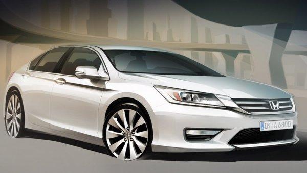 Скетч нового Honda Accord для Европы